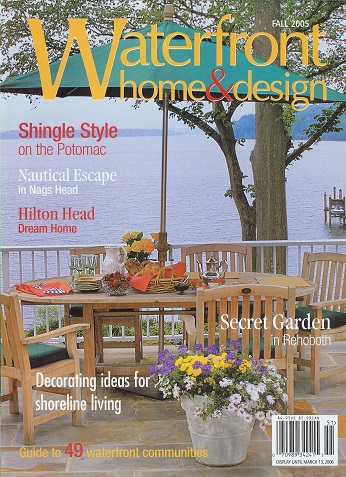 Waterfront Home Fall 2005